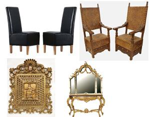 A note about Baroque furniture.